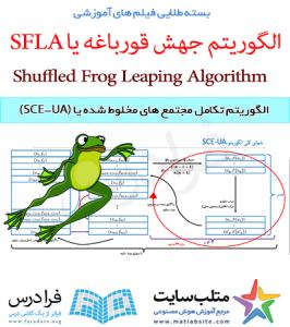 فیلم آموزشی الگوریتم تکامل مجتمع های مخلوط شده یا (SCE-UA) (به زبان فارسی)