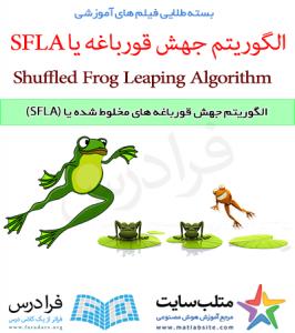 فیلم آموزشی الگوریتم جهش قورباغه های مخلوط شده یا (SFLA) (به زبان فارسی)
