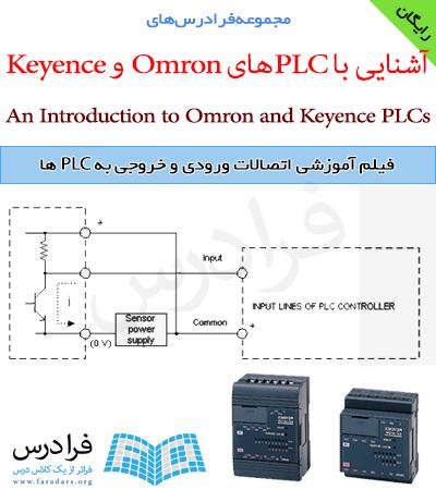 فیلم آموزشی اتصالات ورودی و خروجی به PLC ها