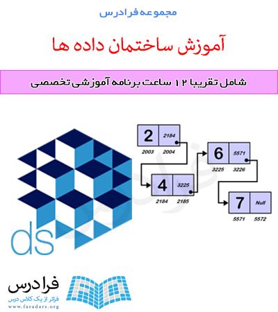 دانلود فایل پاورپوینت مرتبط با فرادرس ساختمان داده ها