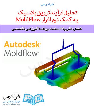 تحلیل فرآیند تزریق پلاستیک به کمک نرم افزار MoldFlow - پیش ثبت نام