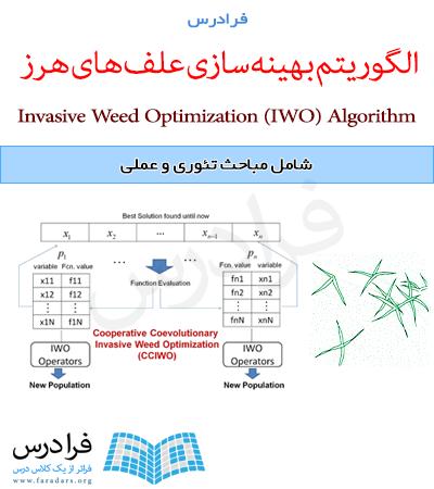 آموزش الگوریتم بهینه سازی علف هرز مهاجم یا IWO در متلب