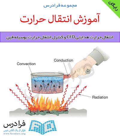 دانلود رایگان آموزش انتقال حرارت هدایتی CFD و کنترل انتقال حرارت بوسیله فین
