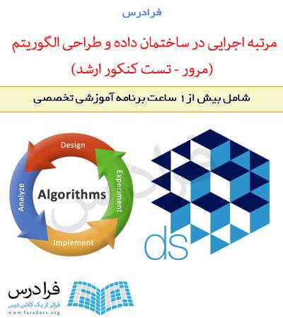 آموزش مرتبه اجرایی در ساختمان داده و طراحی الگوریتم (مرور – تست کنکور ارشد)