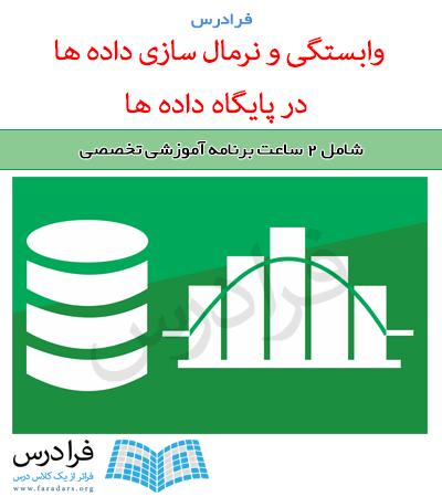 آموزش وابستگی و نرمال سازی داده ها در پایگاه داده ها (مرور – تست کنکور ارشد)
