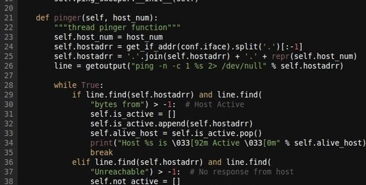 کد محاسبه زمان تاخیر چرخشی (RTT)