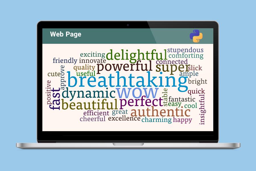 خزش در صفحه وب و یافتن کلمات مکرر با پایتون