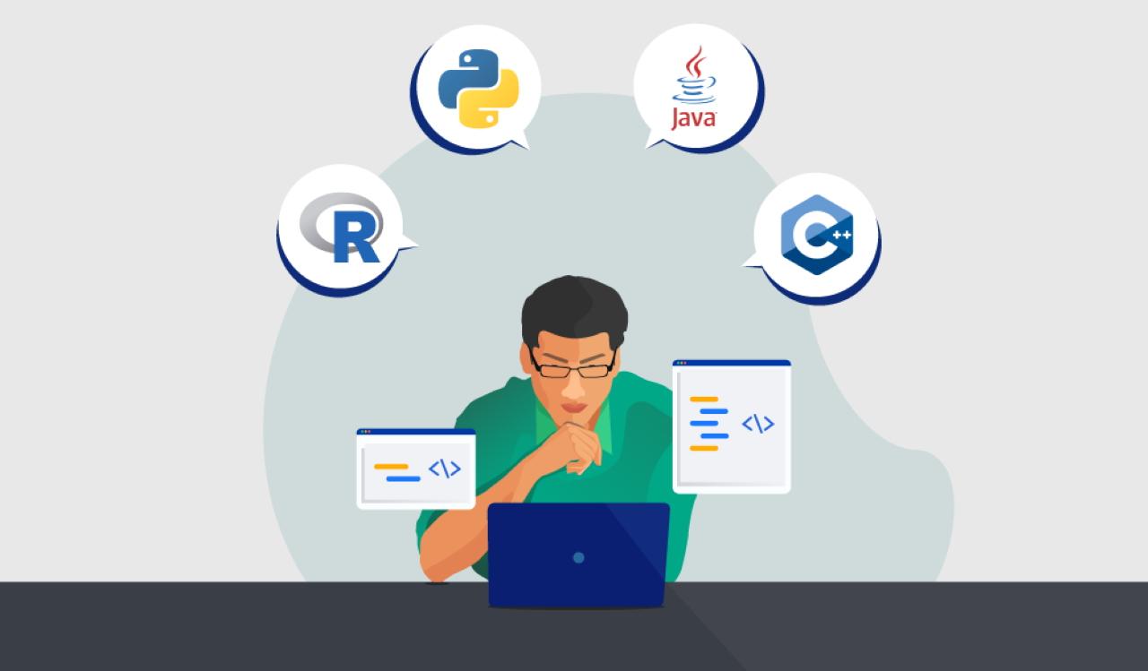 سه زبان برنامه نویسی برای هوش مصنوعی -- راهنمای کاربردی