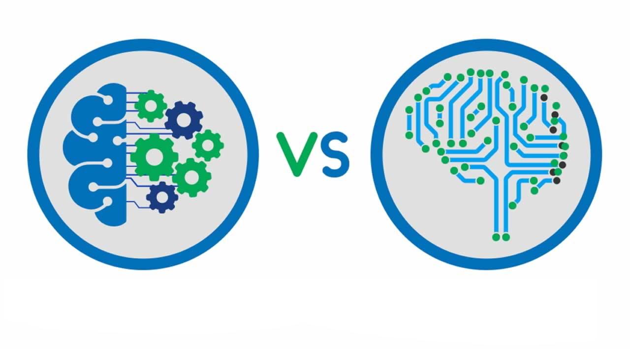 تفاوت یادگیری ماشین و یادگیری عمیق