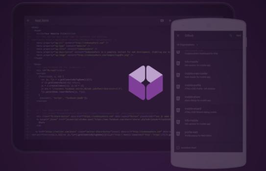 تصویر برای معرفی ویرایشگر Codeanywhere به عنوان یکی از ۸ ابزار ویرایشگر کد مناسب برای اندروید