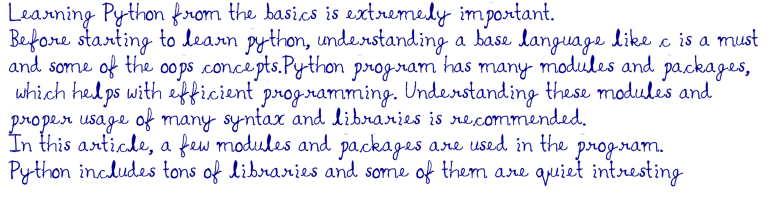 تصویر خروجی مثال استفاده از پکیج pywhatkit در پایتون برای مقاله ۱۰ برنامه جالب پایتون به همراه کد آنها